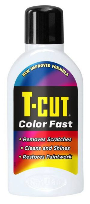 CARPLAN T-Cut Color Fast Woskujący Regenerator Lakieru Biały 500ml
