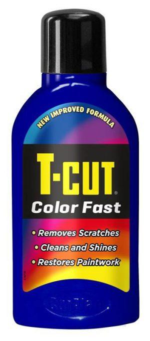 CARPLAN T-Cut Color Fast Woskujący Regenerator Lakieru Ciemnoniebieski 500ml