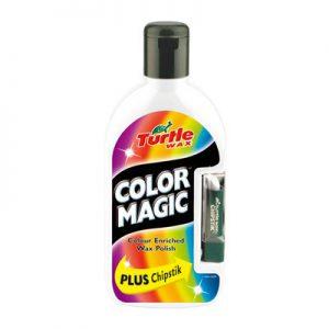 TURTLE WAX Color Magic Wosk koloryzujący biały + kredka