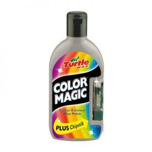 TURTLE WAX Color Magic Wosk koloryzujący srebrny i kredka