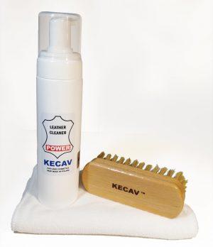 KECAV Leather Cleaner POWER KIT Zestaw do czyszczenia skóry