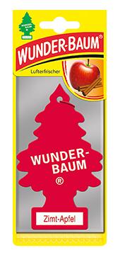 WUNDER-BAUM Drzewko zapachowe, odświeżacz samochodowy zapach Cynamon